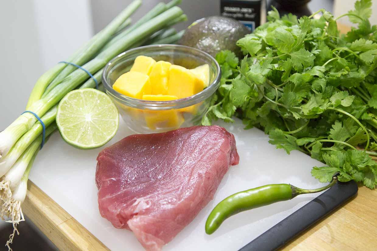 recipe: tuna mango ceviche [5]