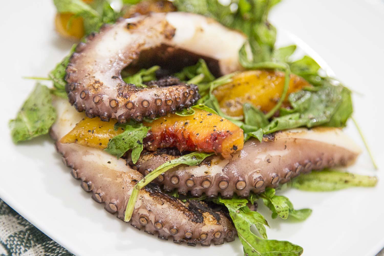 Charred Octopus Salad
