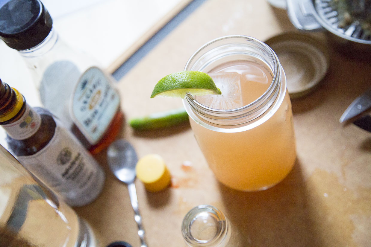 Spicy Mezcal Margarita